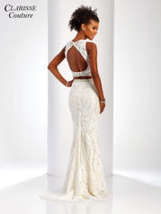 4907 White/Nude back