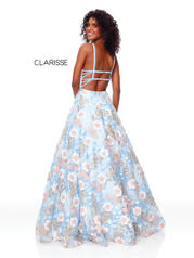 3700 Powder Blue Multi back