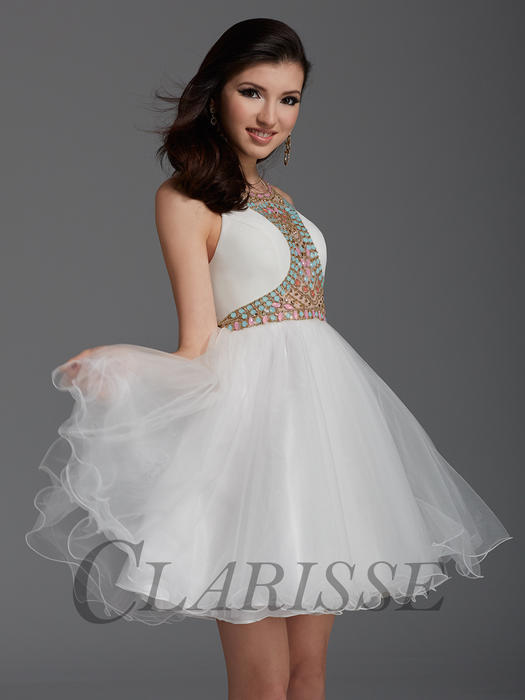 Clarisse Short Cocktail Dress