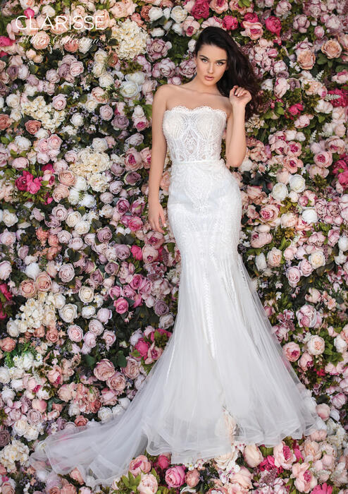 Clarisse White Bridal Wedding Dress