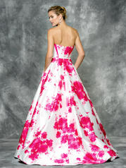 1685 Hot Pink/White back
