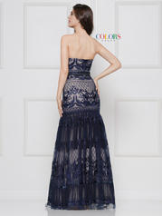 2105 Navy/Nude back