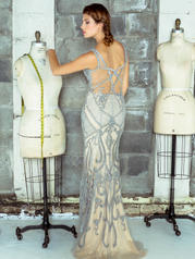 J035 Grey/Nude back