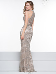 J074 Silver/Nude back