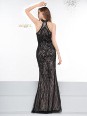 J081 Black/Nude back