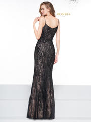 J098 Black/Nude back