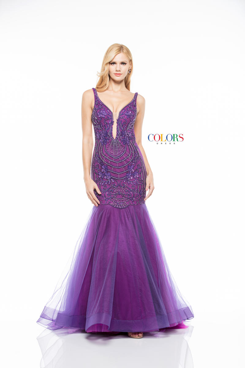Colors Dress 1841