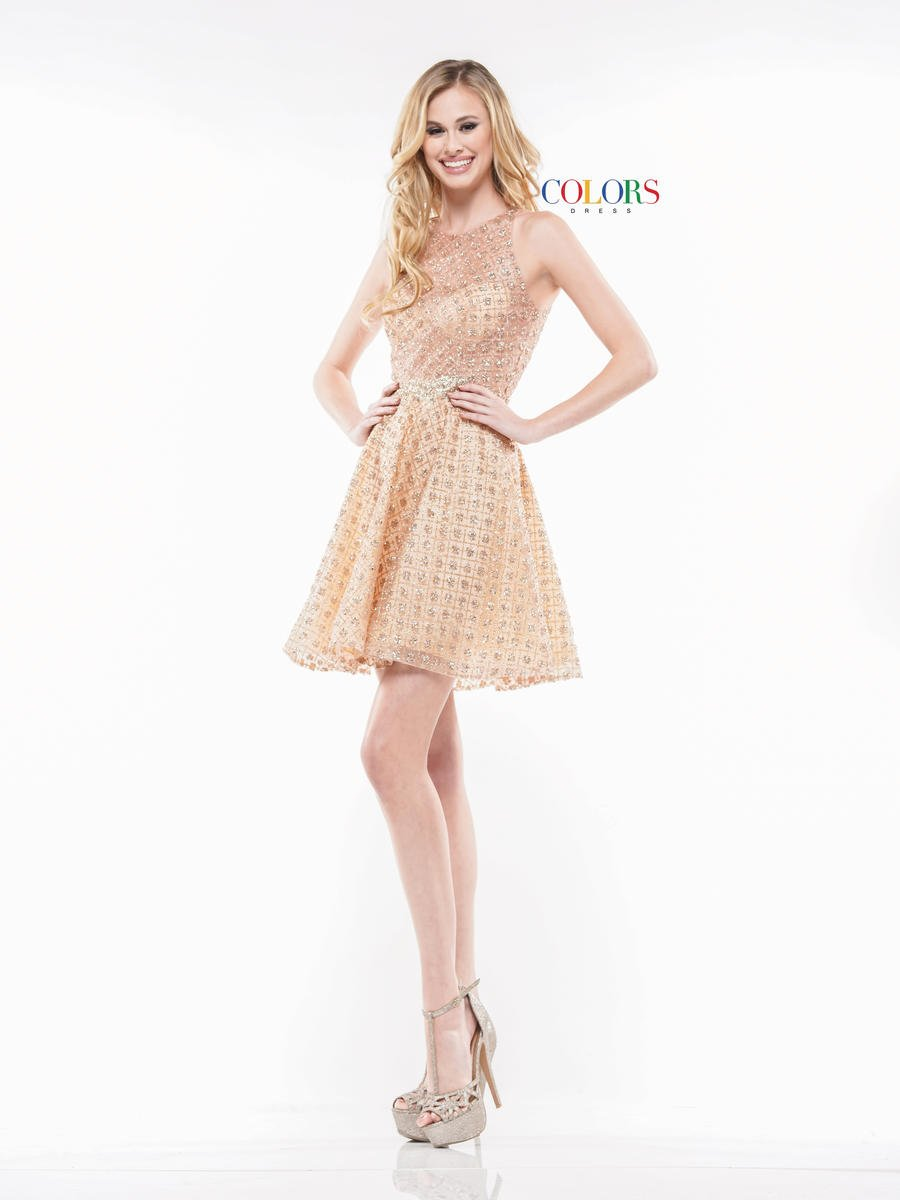 Colors Dress 2167