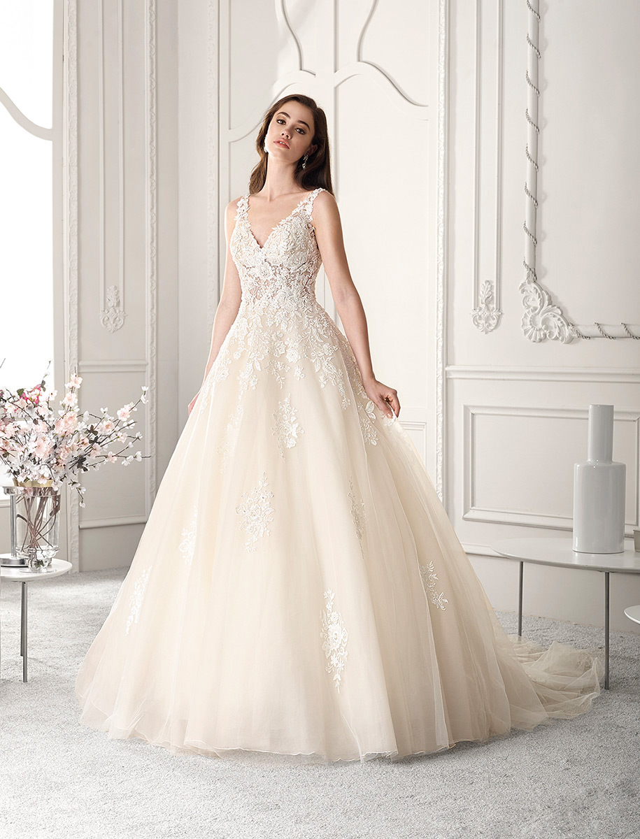 Demetrios Bridal 813