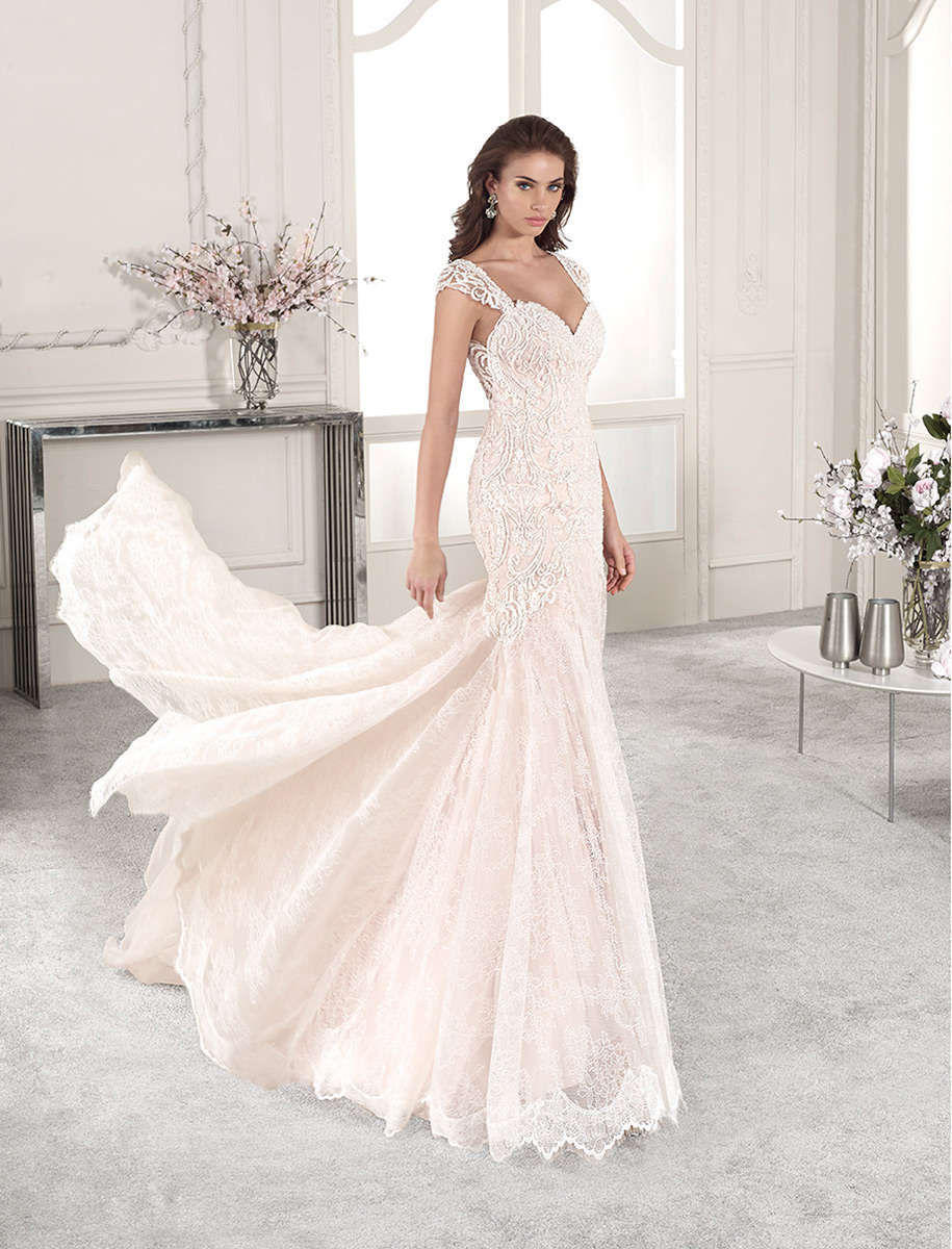 Demetrios Bridal 814