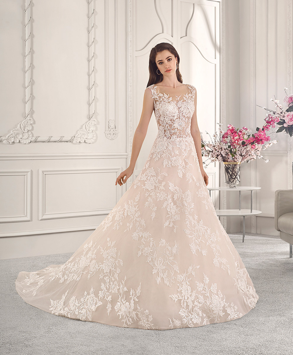 Demetrios Bridal 815
