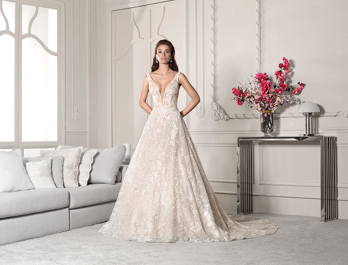 Demetrios Bridal 828