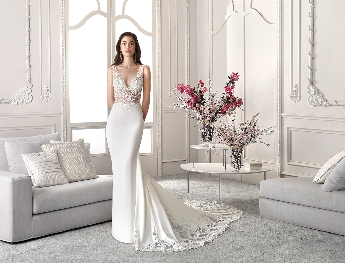 Demetrios Bridal 832