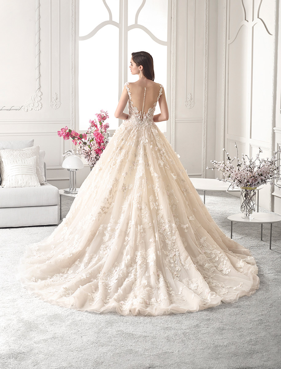 Demetrios Bridal 878