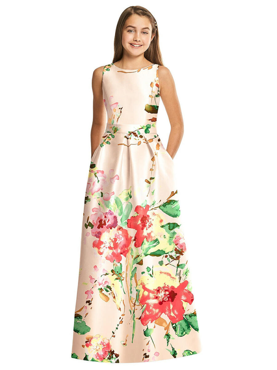 Dessy Bridesmaids JR544FLOR