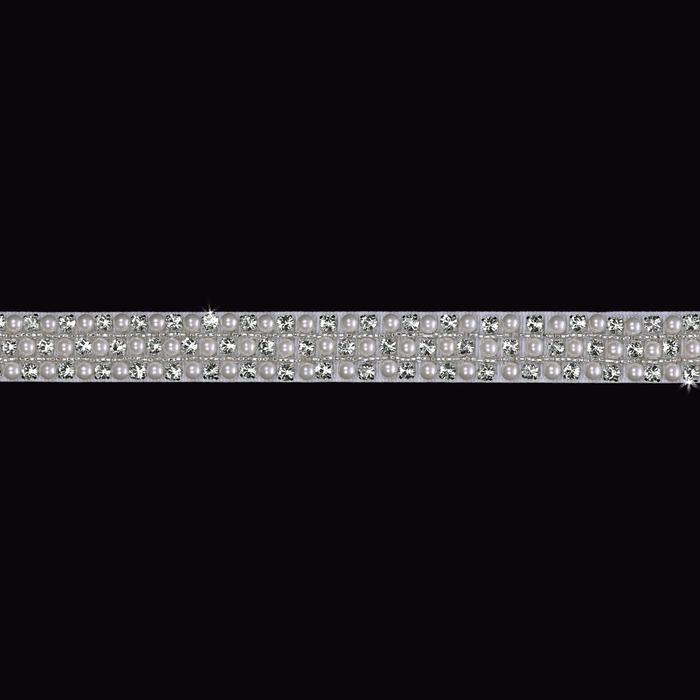 Pearl Grosgrain Ribbon Wedding Belt