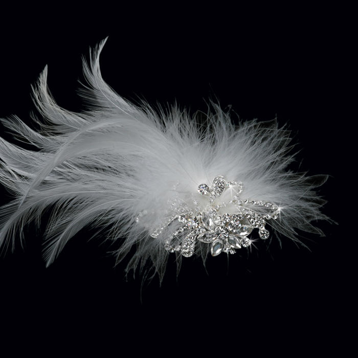 Feather Bridal Flower