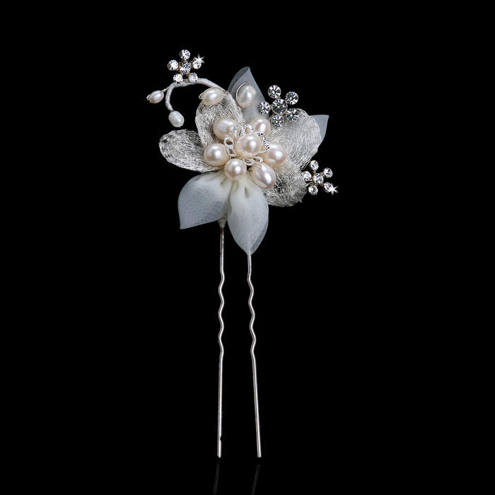 Fabric Bridal Flower