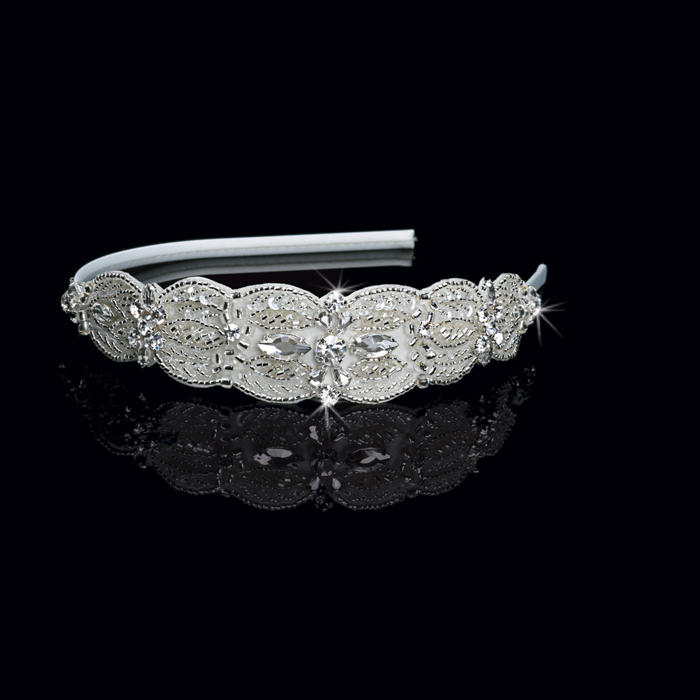 Satin Bridal Headband