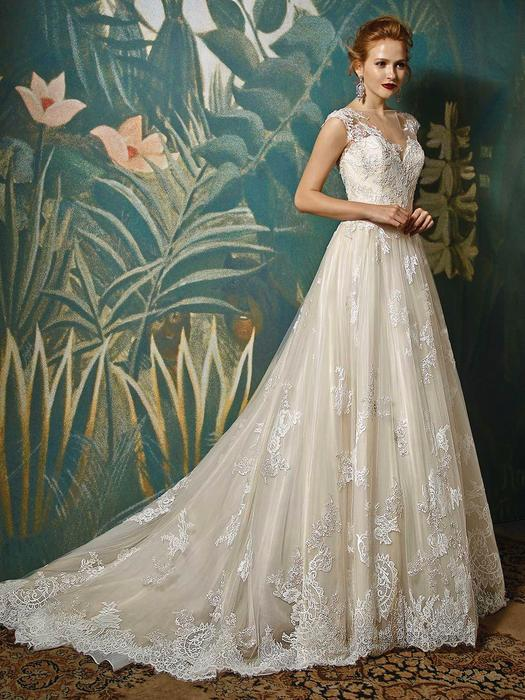 Blue Bridal by Enzoani Jadis