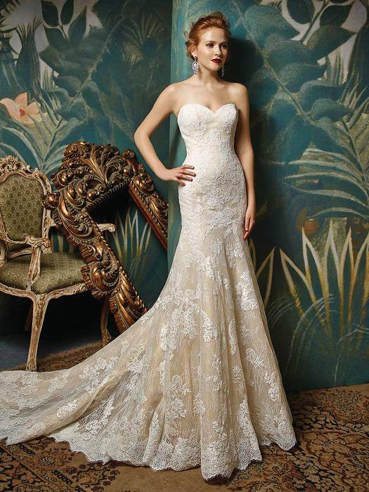 Blue Bridal by Enzoani Joselina
