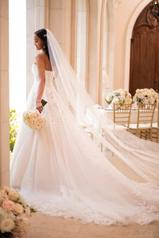6776 Tulle/Moscato Royal Organza/Moscato Gown back