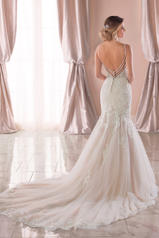 6793 Ivory Lace/Tulle/Moscato Gown/Ivory Tulle Illusion back