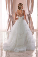 6838 Tulle/Regency Organza/Ivory Gown/Ivory Tulle Illus back