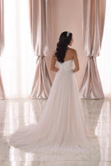 6909 Ivory Lace And French Tulle Over Ivory Gown back