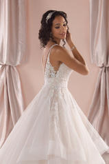 6918 Ivory Lace And Tulle Over Ivory Gown With Ivory Tu back