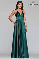 S10255 Deep Green front