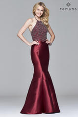 S7974 Burgundy front