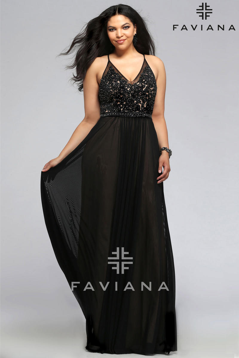 Faviana Plus Sizes 9373