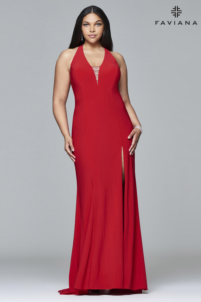 Faviana Plus Sizes 9402