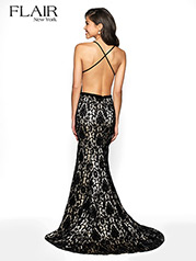 19025 Black/Nude back