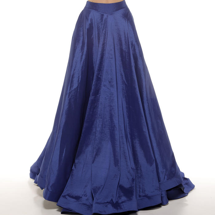 Vienna Angels-Long Taffeta A-Line Skirt only