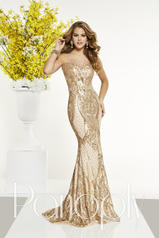 14872 Gold/Nude front