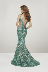 14916 Emerald/Nude back