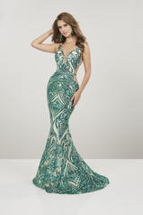 14916 Emerald/Nude front