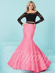 16240 Black/Peony Pink front