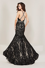 16336 Black/Nude back