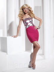 27796 Hot Pink/Silver front