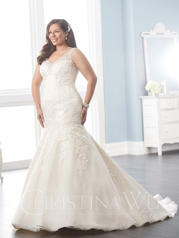 29289 Ivory/Champagne/Silver front