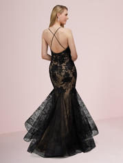 14002 Black/Nude back