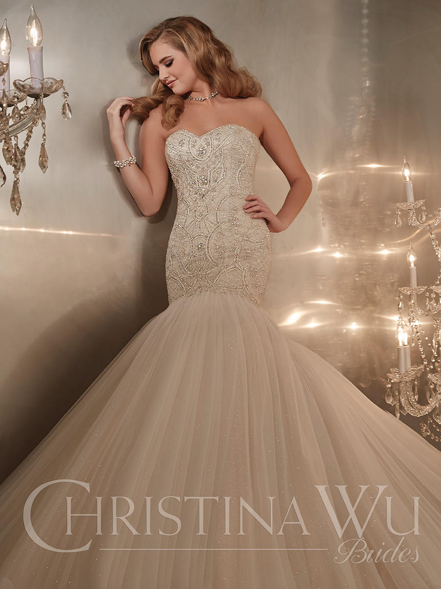 Christina Wu Bridal 15575
