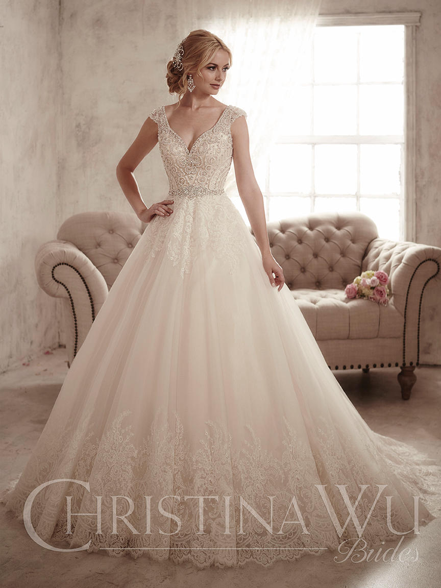Christina Wu Bridal 15597