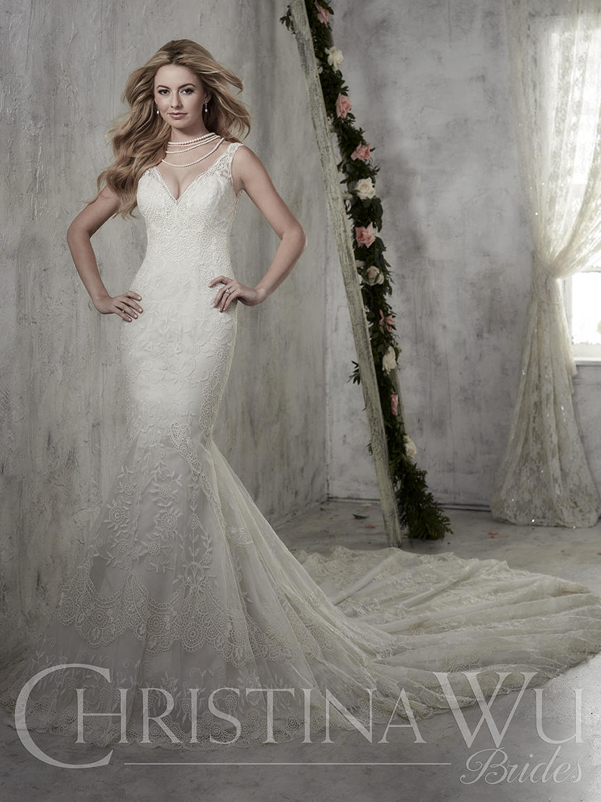 Christina Wu Bridal 15610