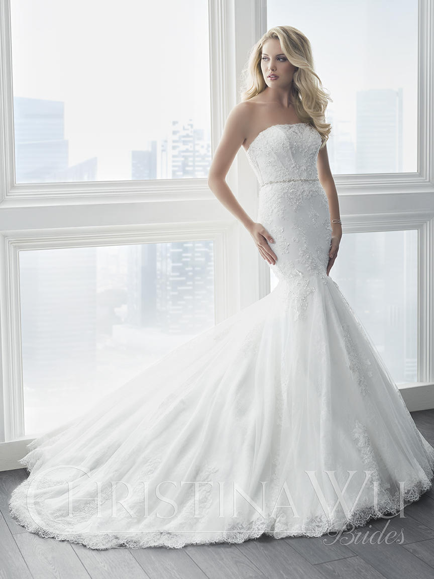 Christina Wu Bridal 15618