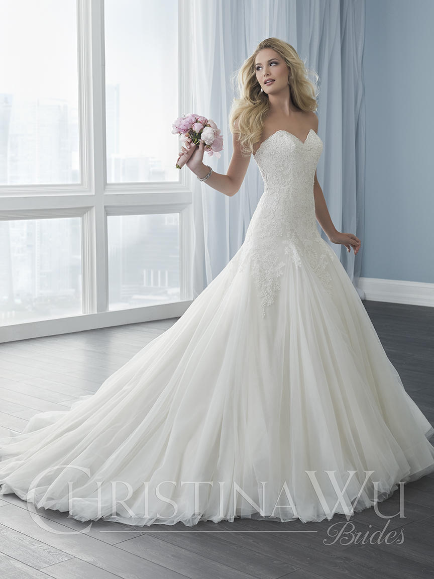 Christina Wu Bridal 15624