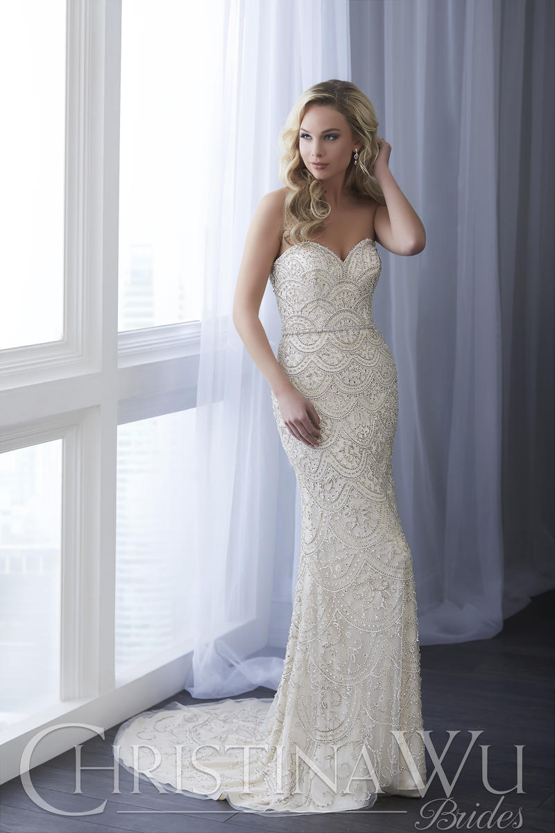 Christina Wu Bridal 15636